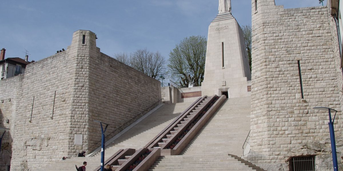Monument of victory in Verdun